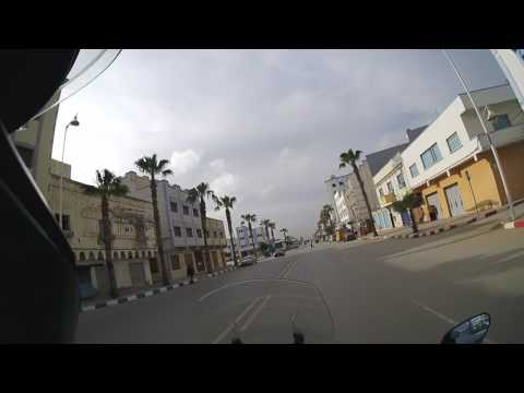 Traffic in Nador, Morocco