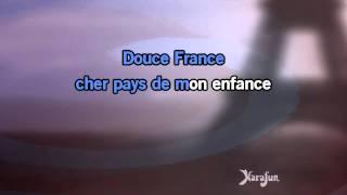 Karaok� Douce France Charles Trenet *