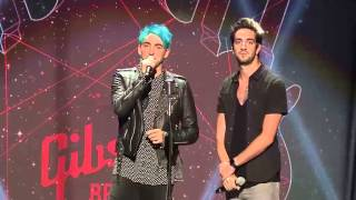 APMAs 2015: All Time Low have JOKES! (Opening monologue)