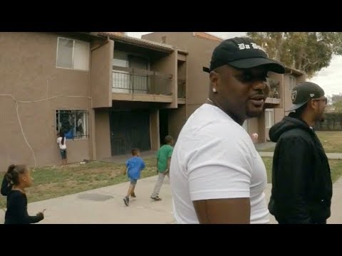 Parc Village Compton Crip Hood with Da Bully