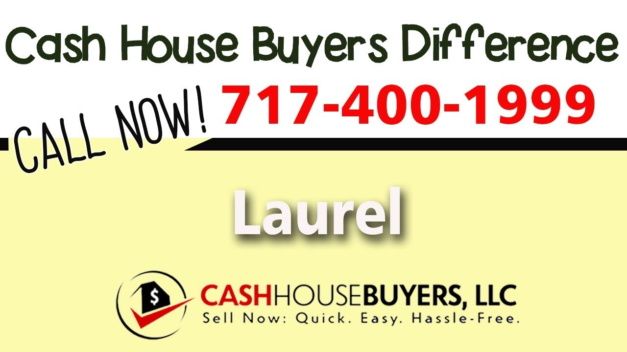 Cash House Buyers Difference in Laurel MD | Call 7174001999 | We Buy Houses