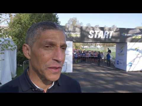 Brighton Marathon Weekend 2017: Chris Hughton interview
