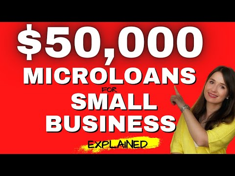 $50,000 Microloans for Small Businesses from the Small Business Administration