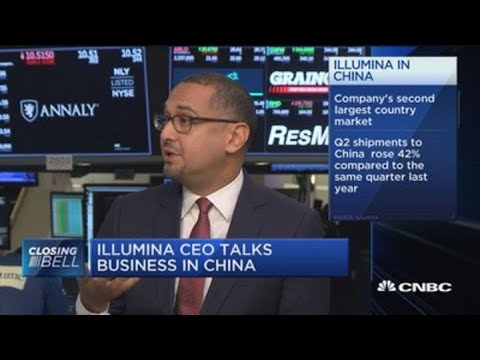 Illumina CEO on the growth of DNA sequencing