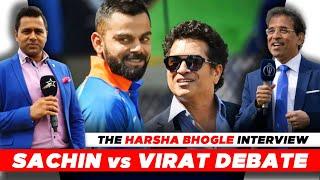 Sachin vs Virat - Who is BETTER?   The HARSHA BHOGLE Interview   Part 2   #AakashVani