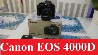 Canon EOS 4000D Unboxing & Review