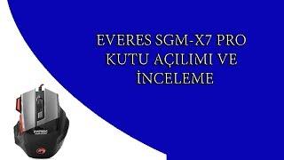 SGM-X7 PRO inceleme ve kutu açılımı .