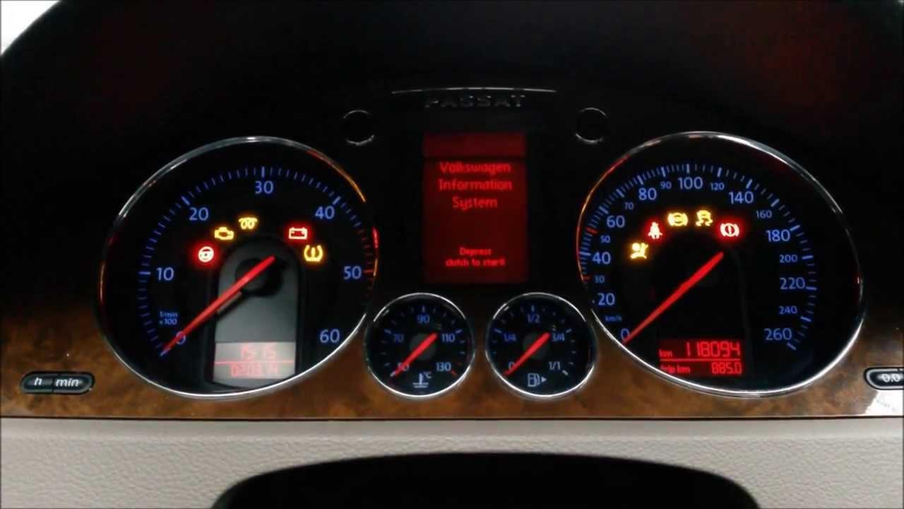 Resetare Interval Service La Volkswagen Passat B6 Si B7
