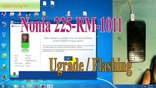 Flashing upgrade firmware Nokia 225 by Nokia Software Recovery Tool 6.3.56.