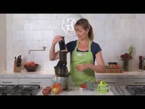 Juicing with the Kuvings Whole Food Slow Juicer | Williams-Sonoma