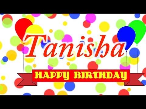 Happy Birthday Tanisha Song