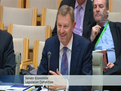 ABS Chief laughs with Senate Estimates Chair on Cost-Saving for Census 2016