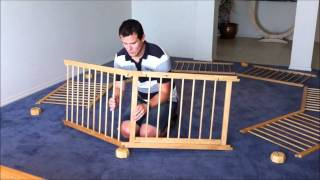 How To Build Your 8 Sided Wooden Playpen.wmv