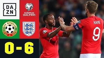 England mit Kantersieg in Bulgarien: Bulgarien - England 0:6 | EM-Quali | DAZN Highlights