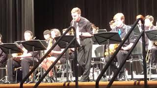 Trumpet soloist: Wesley Littleton(me) Alto Sax soloist: Logan Strot...