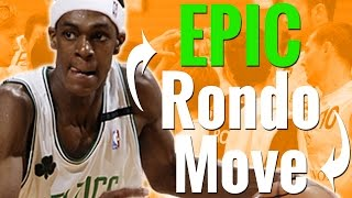 How To: Rajon Rondo Signature Pass Fake - Basketball Moves For Point Guards