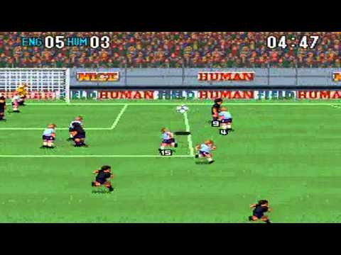 Super Formation Soccer 2 : England VS Human