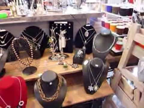 Bijoux fantaisies boutique d co cadeaux youtube for Boutique deco