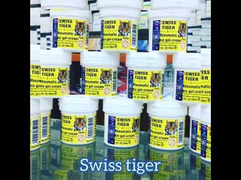 Switzerland swiss tiger bio gel cream since 1886