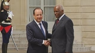 Angola: Dos Santos in France for first time in over decade - Africa News