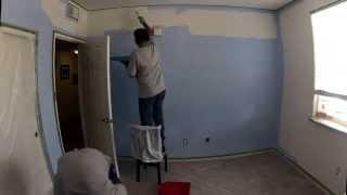 Milo's Room Paint & Crib