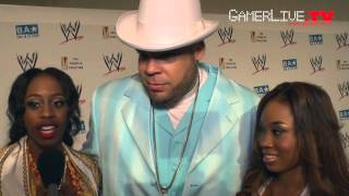 WWE Wrestler Brodus Clay  Divas Cameron + Naomi Talk SummerSlam  WWE 13 Game