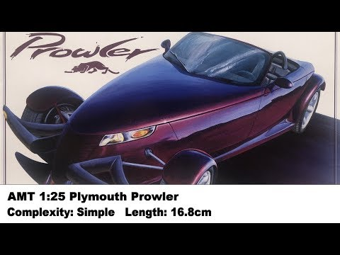 AMT 1:25 Plymouth Prowler Kit Review