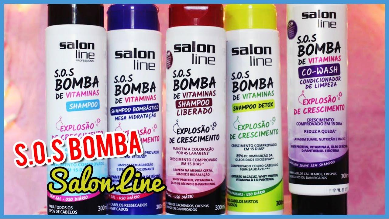 b2e95a0bd SOS Bomba - Salon Line  Shampoo