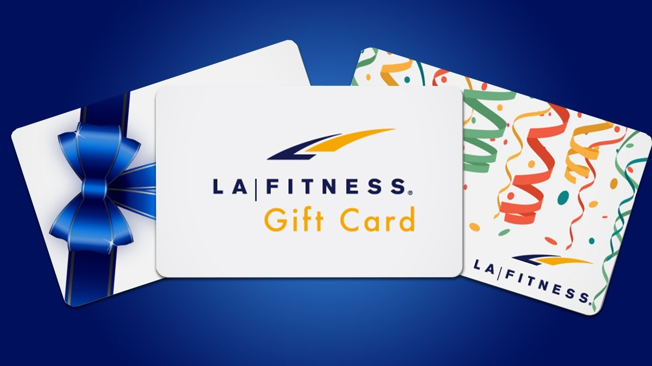 LA Fitness Gift Cards Now Available! - YouTube