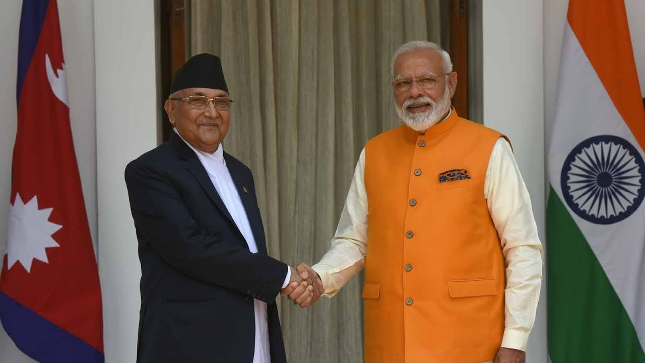 Prime Minister Narendra Modi and Nepal PM KP Sharma Oli to ...