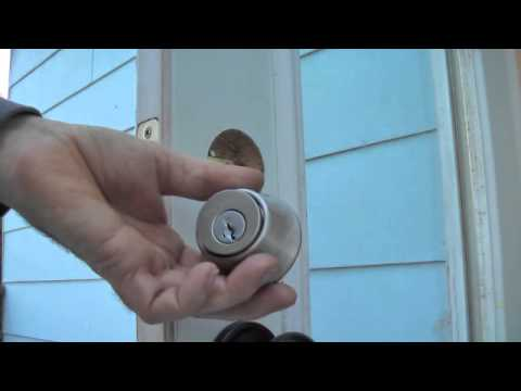 sticking deadbolt fix and troubleshoot detailed diy youtube