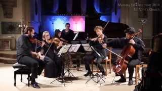 Dohnanyi Piano Quintet No.1 Op.1, I .Allegro (clip)