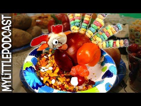 Veggie/Food Turkey Contest |  Livestream  |  My Little Podcast