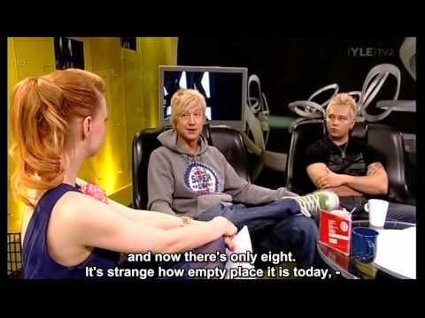 Sunrise Avenue - interview on Musiikki-TV, May 2009.
