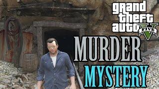 GTA 5 PS4 - MURDER MYSTERY BIGGEST CLUE! Secret Hidden Mine Tunnel Location & Walk-Through