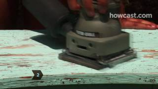 How To Sand Wood