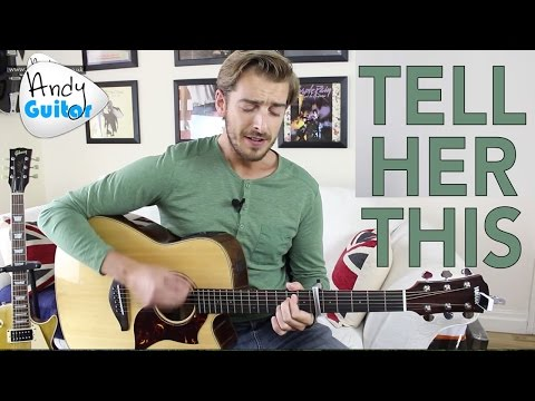 Del Amitri - Tell Her This Guitar Lesson Tutorial - 4 Chord Beginner Song