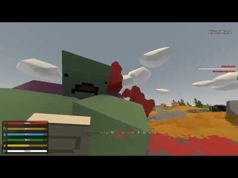 Unturned 3.30.1.0 - Punching A Groundpounder Boss To Death (Hard, Pure Skill)