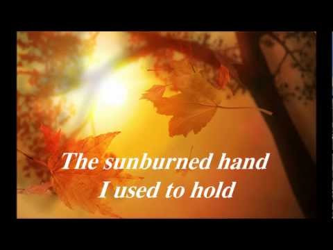Eric Clapton - Autumn Leaves (with lyrics)