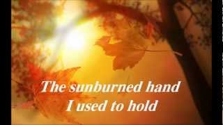 Eric Clapton Autumn Leaves with lyrics