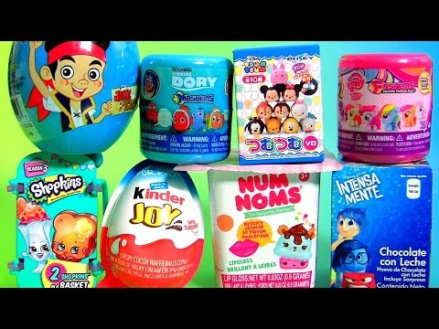SURPRISE TOYS My Little Pony Mashems 5 Shopkins NUM NOMS Disney Inside Out Disney Tsum Tsum Dory