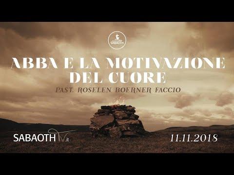 Domenica Gospel @ Milano | Abba E La Motivazione Del Cuore - Pastore Roselen | 11.11.2018