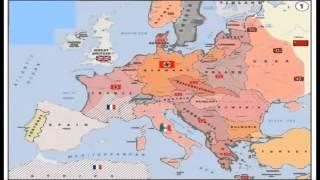 Карта 2ой Мировой Войны