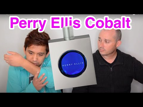 Perry Ellis Cobalt Review Feat  CascadeScents