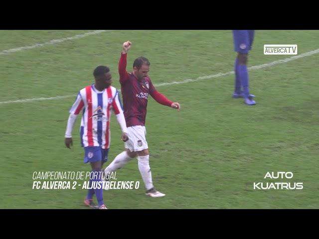 FC Alverca 2 - Aljustrelense 0 Highlights