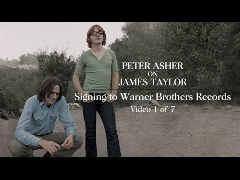 James Taylor - Signing To Warner Records (Peter Asher Interview #1)