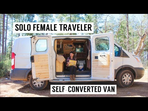 VAN LIFE - How I Went From Living in New York + Globetrotting - to a SELF-CONVERTED CAMPER