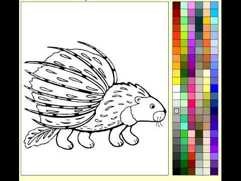 Porcupine Coloring Pages For Kids   Porcupine Coloring Pages
