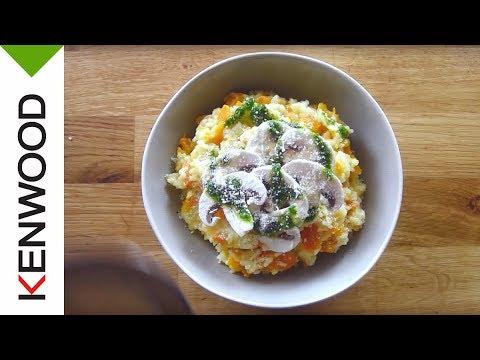 recette-de-risotto-d'automne-au-pistou-de-persil-plat-au-cooking-chef-gourmet-kenwood