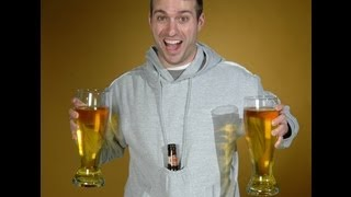 Wear your beer with the Beer Pouch Hoodie